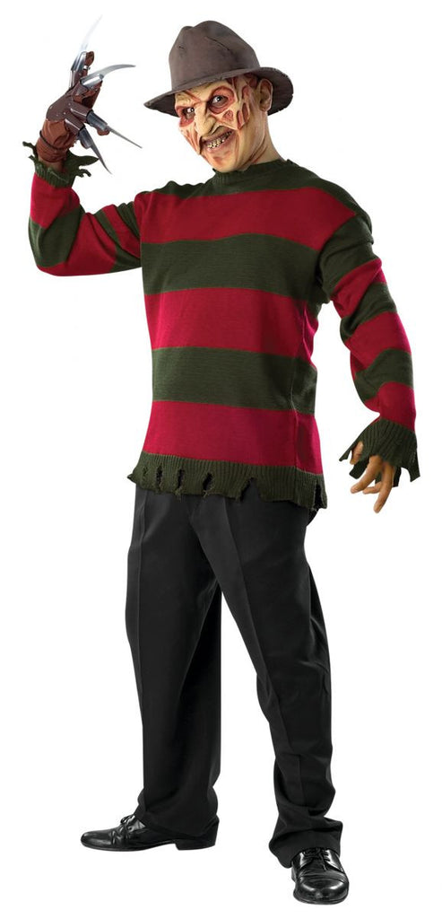 Mens/Teens Nightmare on Elm Street Freddy Krueger Deluxe Sweater