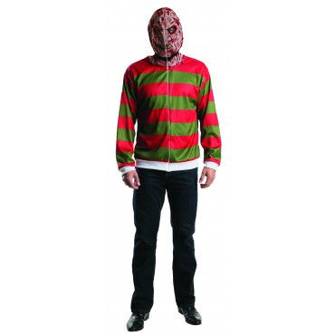 Mens/Teens Nightmare on Elm Street Freddy Hoodie - HalloweenCostumes4U.com - Adult Costumes