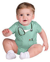 Infants Doctor Onesie - HalloweenCostumes4U.com - Infant & Toddler Costumes