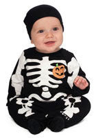 Infants Skeleton Costume - HalloweenCostumes4U.com - Infant & Toddler Costumes