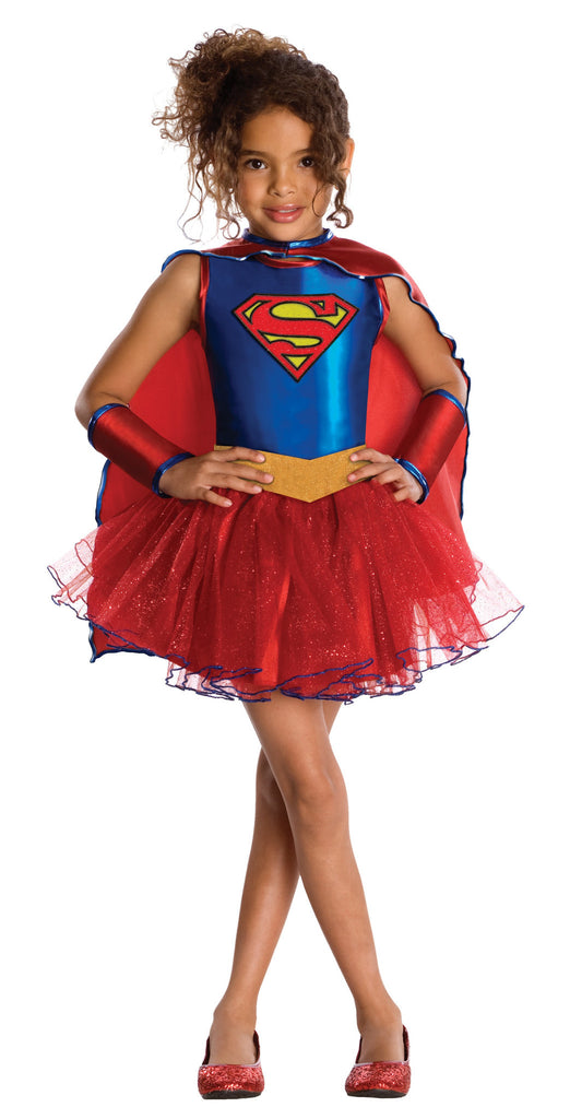 Toddler/Kids Supergirl Tutu Dress Costume - HalloweenCostumes4U.com - Kids Costumes