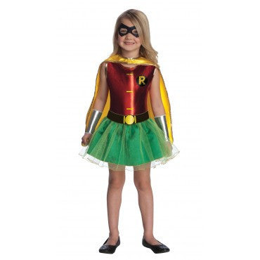 Girls Batman Robin Tutu Costume - HalloweenCostumes4U.com - Kids Costumes