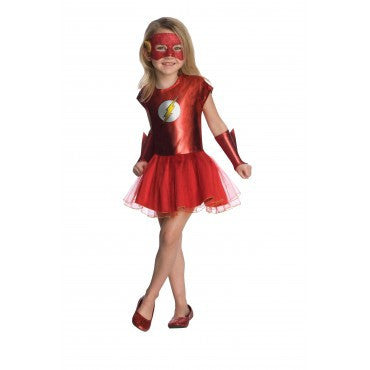 Girls Flash Tutu Costume - HalloweenCostumes4U.com - Kids Costumes