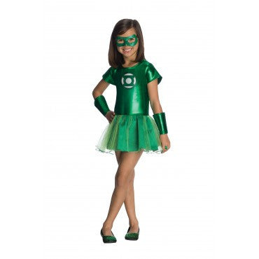 Girls Green Lantern Tutu Costume - HalloweenCostumes4U.com - Kids Costumes