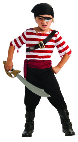 Boys Black Jacket the Pirate Costume