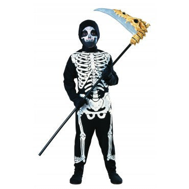 Boys Skeleton Costume - HalloweenCostumes4U.com - Kids Costumes