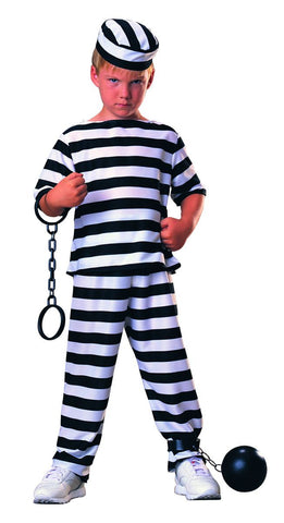 Boys Prisoner Boy Costume