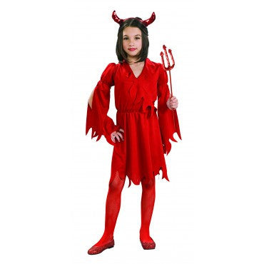 Girls Devil Costume - HalloweenCostumes4U.com - Kids Costumes