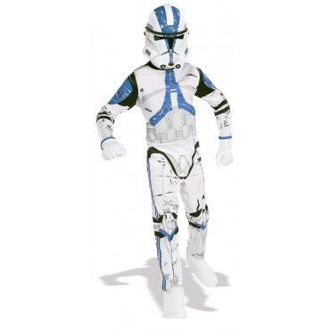 Boys Star Wars Clone Trooper Costume - HalloweenCostumes4U.com - Kids Costumes