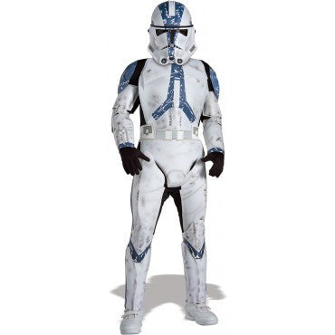Boys Star Wars Deluxe Clone Trooper Costume - HalloweenCostumes4U.com - Kids Costumes