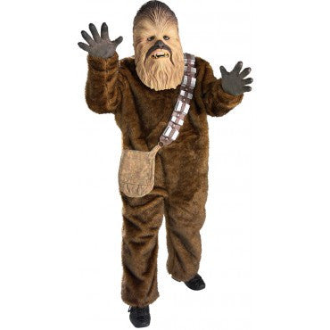 Boys Star Wars Deluxe Chewbacca Costume - HalloweenCostumes4U.com - Kids Costumes
