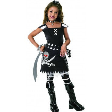 Girls Scar-Let Pirate Costume - HalloweenCostumes4U.com - Kids Costumes