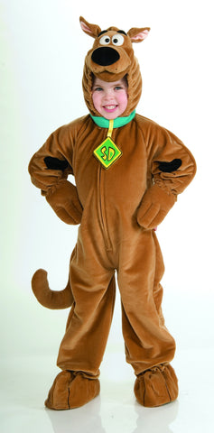 Boys Deluxe Scooby-Doo Costume