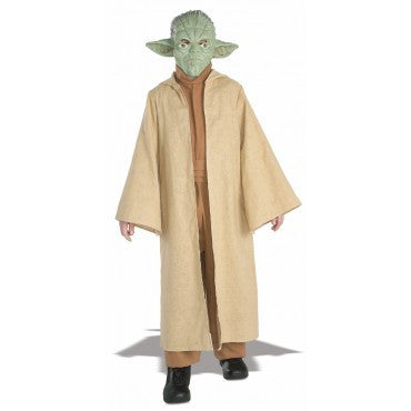 Boys Star Wars Deluxe Yoda Costume - HalloweenCostumes4U.com - Kids Costumes
