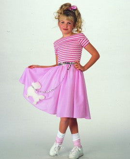 Girls Nifty Fifties Costume - HalloweenCostumes4U.com - Kids Costumes