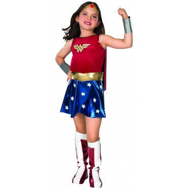 Girls Wonder Woman Costume - HalloweenCostumes4U.com - Kids Costumes