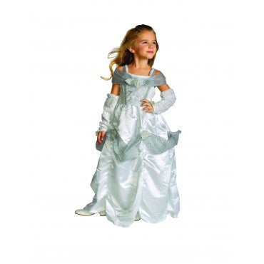 Girls Snow Queen Costume - HalloweenCostumes4U.com - Kids Costumes