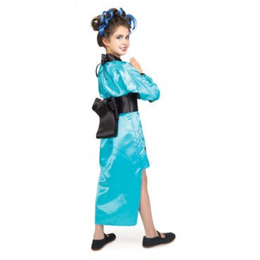 Girls Dragon Lady Costume - HalloweenCostumes4U.com - Kids Costumes - 2