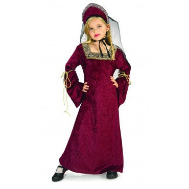 Girls Renaissance Lady of the Palace Costume - HalloweenCostumes4U.com - Kids Costumes