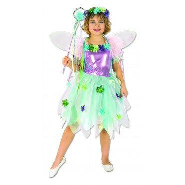 Girls Garden Fairy Costume - HalloweenCostumes4U.com - Kids Costumes