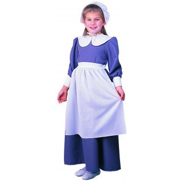 Girls Pilgrim Costume - HalloweenCostumes4U.com - Kids Costumes