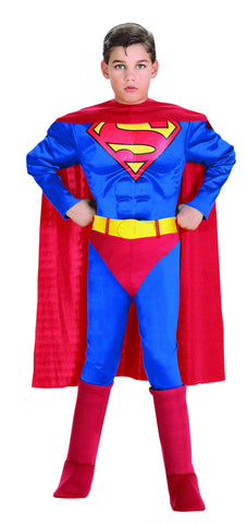 Boys Deluxe Superman Costume