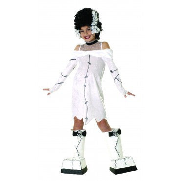 Girls Frankie's Girl Costume - HalloweenCostumes4U.com - Kids Costumes