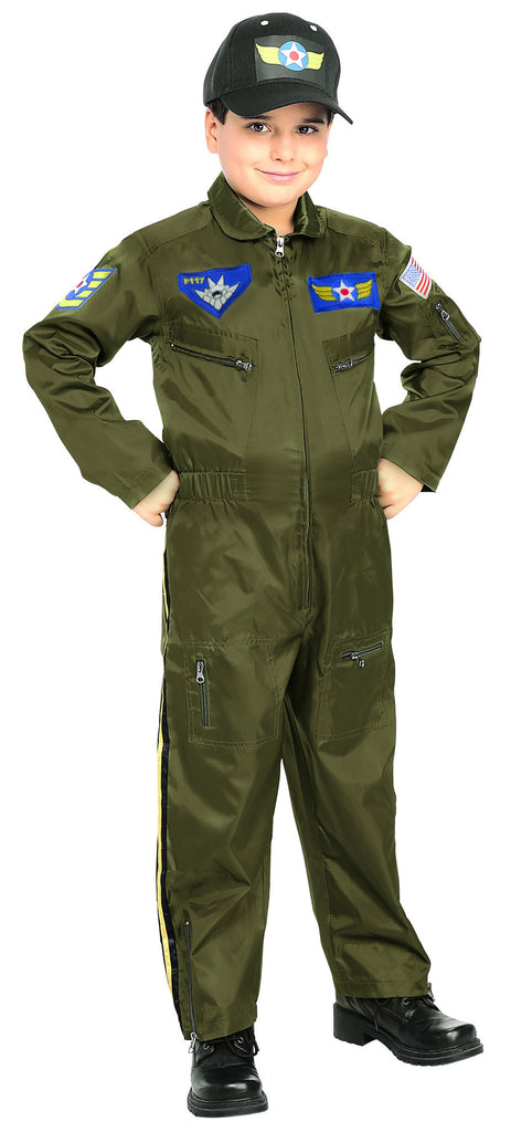 Toddlers/Kids Air Force Pilot Costume - HalloweenCostumes4U.com - Kids Costumes