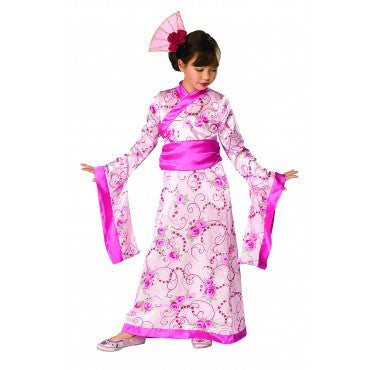 Girls Asian Princess Costume - HalloweenCostumes4U.com - Kids Costumes