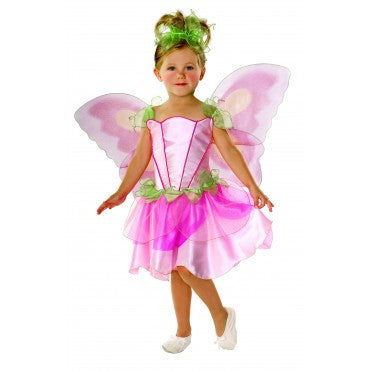 Girls Springtime Fairy Costume - HalloweenCostumes4U.com - Kids Costumes