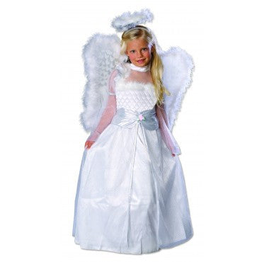 Girls Rosebud Angel Costume - HalloweenCostumes4U.com - Kids Costumes