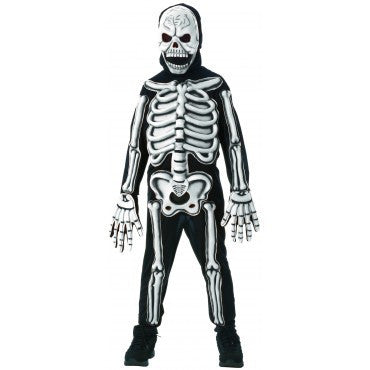 Boys Glow-in-the-Dark Skeleton Costume - HalloweenCostumes4U.com - Kids Costumes
