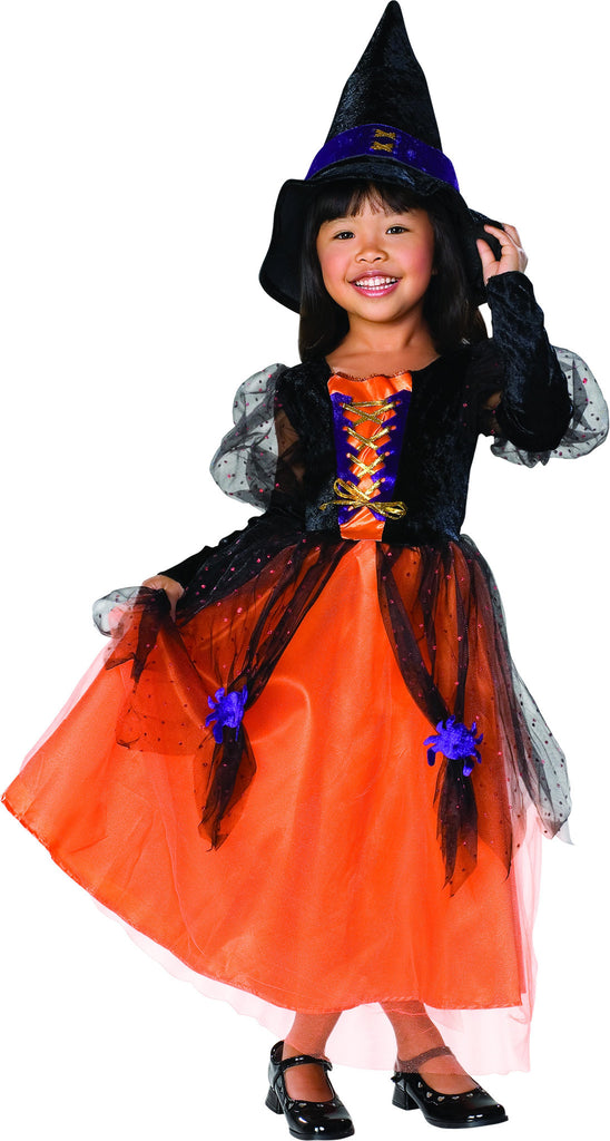 Toddlers/Kids Pretty Witch Costume - HalloweenCostumes4U.com - Kids Costumes