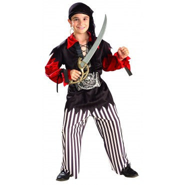 Boys Sea Captain Pirate Costume - HalloweenCostumes4U.com - Kids Costumes