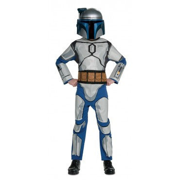 Boys Star Wars Jango Fett Costume - HalloweenCostumes4U.com - Kids Costumes