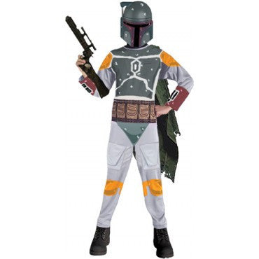Boys Star Wars Boba Fett Costume - HalloweenCostumes4U.com - Kids Costumes