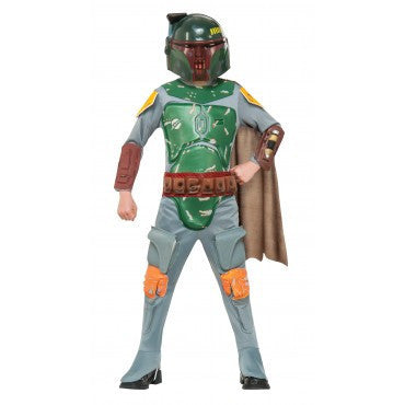 Boys Star Wars Deluxe Boba Fett Costume - HalloweenCostumes4U.com - Kids Costumes