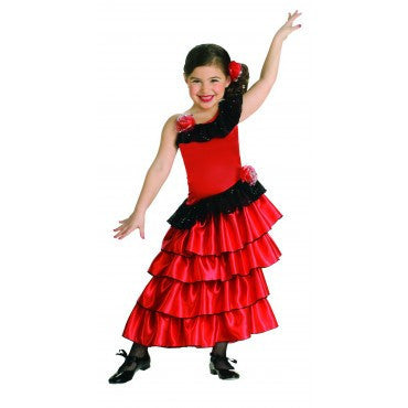 Girls Spanish Princess Costume - HalloweenCostumes4U.com - Kids Costumes
