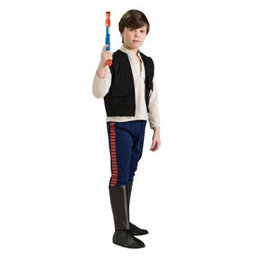 Boys Star Wars Deluxe Han Solo Costume - HalloweenCostumes4U.com - Kids Costumes
