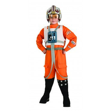 Boys Star Wars X-Wing Pilot Costume - HalloweenCostumes4U.com - Kids Costumes