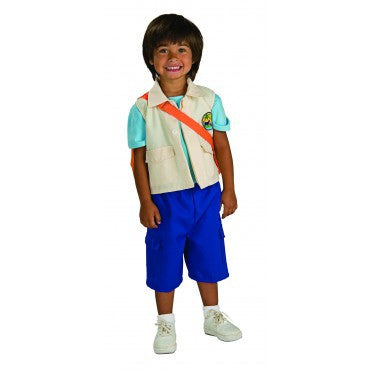 Boys Go Diego Costume