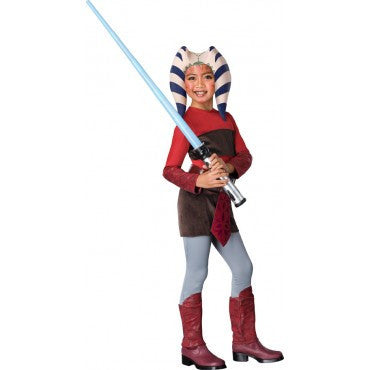 Girls Star Wars Ahsoka Costume - HalloweenCostumes4U.com - Kids Costumes