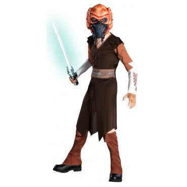 Boys Star Wars Plo Koon Costume - HalloweenCostumes4U.com - Kids Costumes