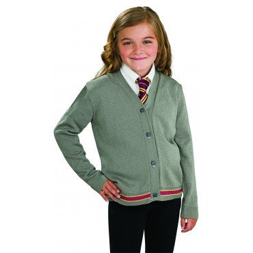 Girls Harry Potter Hermione Granger Sweater and Tie - HalloweenCostumes4U.com - Kids Costumes