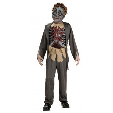 Boys Zombie Corpse Fiber Optic Costume - HalloweenCostumes4U.com - Kids Costumes