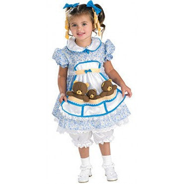 Girls Goldilocks Costume - HalloweenCostumes4U.com - Kids Costumes