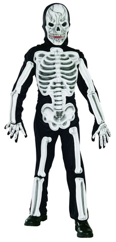 Boys Deluxe Skeleton Costume
