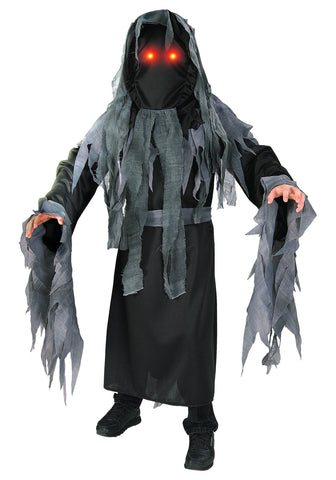 Boys Dark Spirit Ghost Costume - HalloweenCostumes4U.com - Kids Costumes