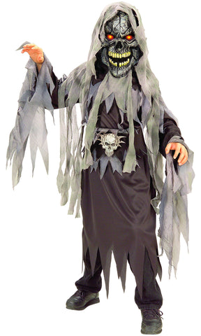 Boys Evil Eyes Skull Costume
