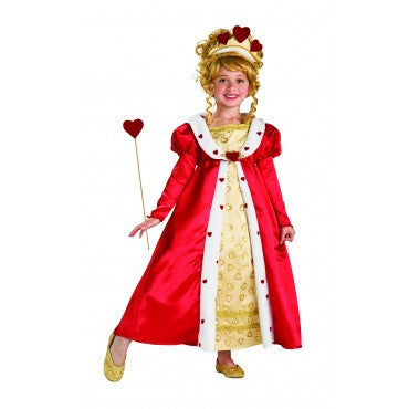Girls Red Heart Princess Costume - HalloweenCostumes4U.com - Kids Costumes